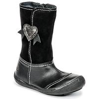 Παπούτσια Κορίτσι Μπότες για την πόλη Citrouille et Compagnie HYDIL Black