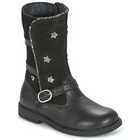 Παπούτσια Κορίτσι Μπότες για την πόλη Citrouille et Compagnie HANDRE Black