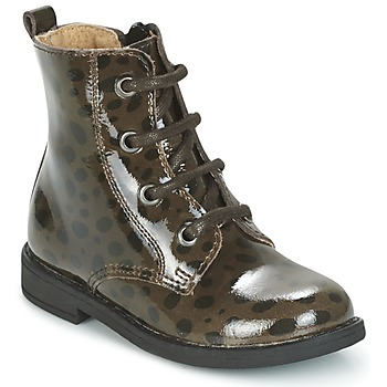 Παπούτσια Κορίτσι Μπότες Citrouille et Compagnie HEMANU Black / Brown