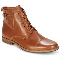 Παπούτσια Άνδρας Μπότες Schmoove BLIND BRITISH BROGUE Camel