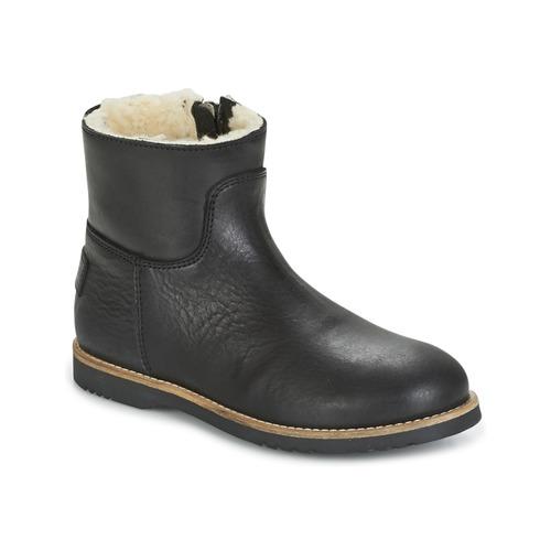 Παπούτσια Κορίτσι Μπότες Shabbies LOW STITCHDOWN LINED Black