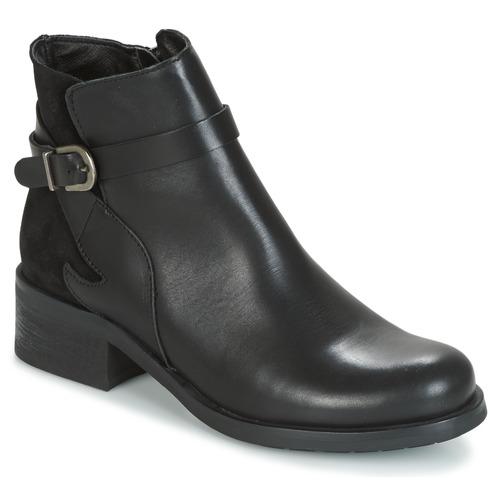 Παπούτσια Γυναίκα Μπότες Betty London HARRIS Black