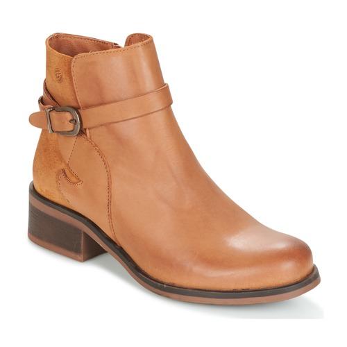 Παπούτσια Γυναίκα Μπότες Betty London HEYLEY Camel