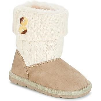 Παπούτσια Κορίτσι Μπότες Chicco CHARME Beige / Brown