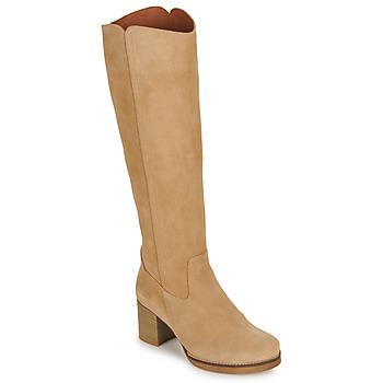 Παπούτσια Γυναίκα Μπότες για την πόλη Casual Attitude HAPI Beige