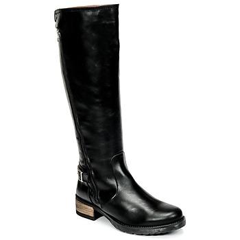 Παπούτσια Γυναίκα Μπότες για την πόλη Casual Attitude HAPO Black