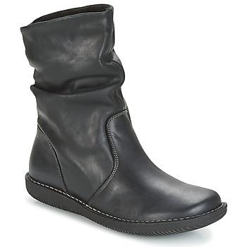 Παπούτσια Γυναίκα Μπότες Casual Attitude HAPANO Black