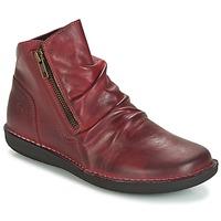 Παπούτσια Γυναίκα Μπότες Casual Attitude HERMINA Bordeaux