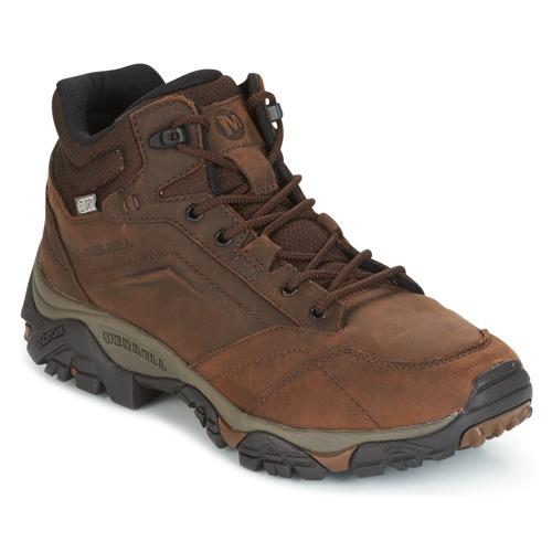 Παπούτσια Άνδρας Πεζοπορίας Merrell MOAB VENTURE MID WTPF Brown