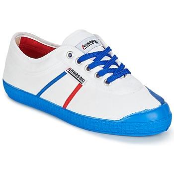 Παπούτσια Άνδρας Χαμηλά Sneakers Kawasaki BASIC FANTASY άσπρο / μπλέ