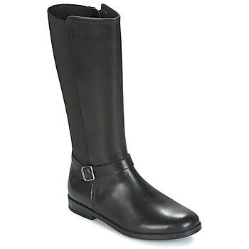 Παπούτσια Κορίτσι Μπότες για την πόλη Start Rite GRACE LONG Black