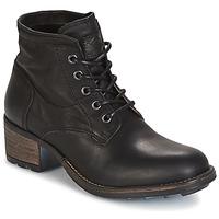 Παπούτσια Γυναίκα Μπότες για την πόλη PLDM by Palladium CARTHY CMR Black