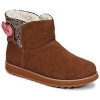 Παπούτσια Γυναίκα Μπότες Skechers KEEPSAKES Brown