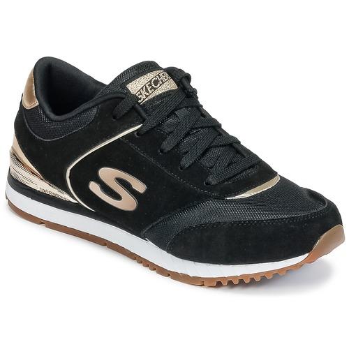 Παπούτσια Γυναίκα Χαμηλά Sneakers Skechers SUNLITE Black / Dore