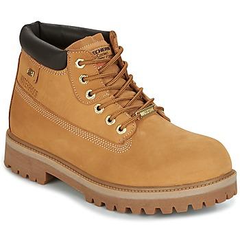 Παπούτσια Άνδρας Μπότες Skechers SERGEANTS CAMEL