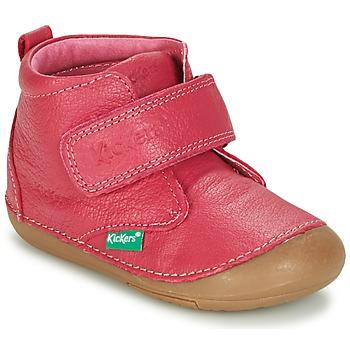 Παπούτσια Κορίτσι Μπότες Kickers SABIO FUCHSIA