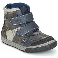 Παπούτσια Αγόρι Snow boots Kickers SITROUILLE Grey / Fonce / Μπλέ