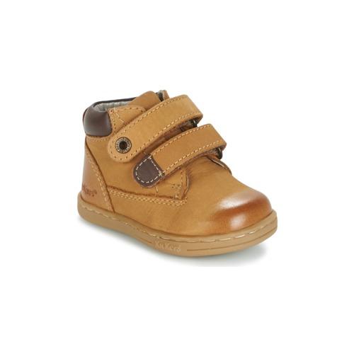 Παπούτσια Αγόρι Μπότες Kickers TACKEASY CAMEL