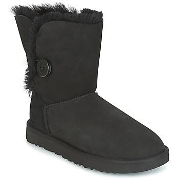 Παπούτσια Γυναίκα Μπότες UGG BAILEY BUTTON II Black