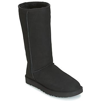 Παπούτσια Γυναίκα Μπότες για την πόλη UGG CLASSIC TALL II Black