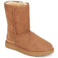Παπούτσια Γυναίκα Μπότες UGG CLASSIC SHORT II Camel