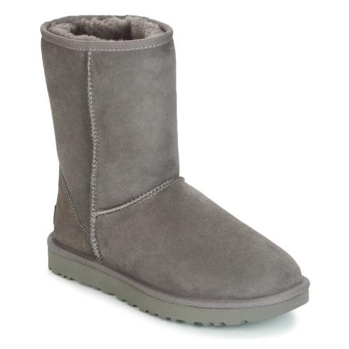 Παπούτσια Γυναίκα Μπότες UGG CLASSIC SHORT II Grey