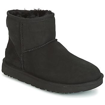 Παπούτσια Γυναίκα Μπότες UGG CLASSIC MINI II Black