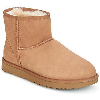 Παπούτσια Γυναίκα Μπότες UGG CLASSIC MINI II Brown
