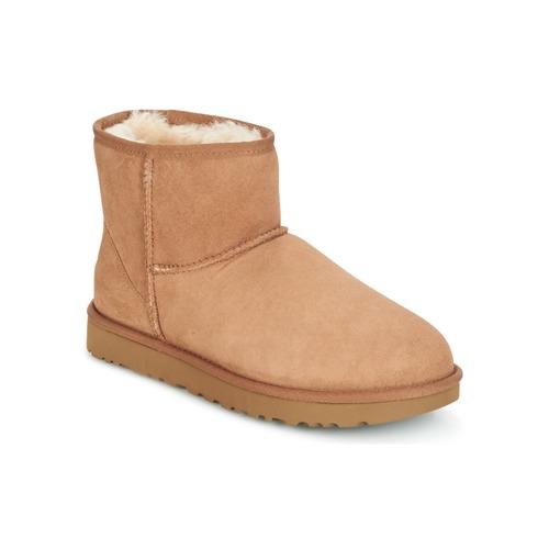 Παπούτσια Γυναίκα Μπότες UGG CLASSIC MINI II Camel