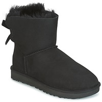 Παπούτσια Γυναίκα Μπότες UGG MINI BAILEY BOW II Black