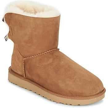 Παπούτσια Γυναίκα Μπότες UGG MINI BAILEY BOW II Brown