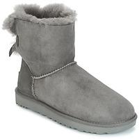 Παπούτσια Γυναίκα Μπότες UGG MINI BAILEY BOW II Grey
