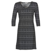 Υφασμάτινα Γυναίκα Κοντά Φορέματα Cream MIRA DRESS Black