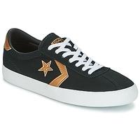 Παπούτσια Γυναίκα Χαμηλά Sneakers Converse BREAKPOINT OX Μαυρο / Χρυσο