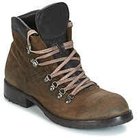 Παπούτσια Άνδρας Μπότες Moma MARTENS CORDA/ COSNA TESTA DI MORO KAKI / Brown