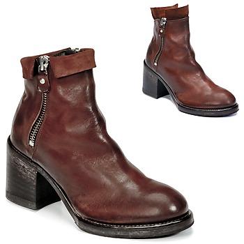 Παπούτσια Γυναίκα Μποτίνια Moma CUSNA COPPER Brown