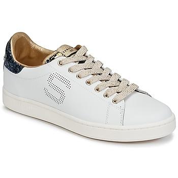 Παπούτσια Γυναίκα Χαμηλά Sneakers Serafini J.CONNORS Άσπρο / Μπλέ / Dore