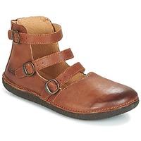 Παπούτσια Γυναίκα Μπαλαρίνες Kickers HONORINE CAMEL