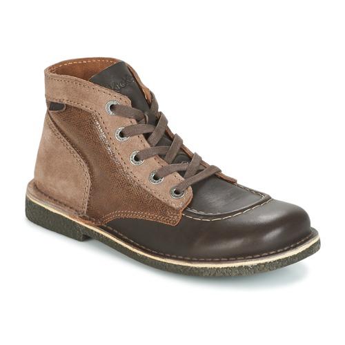 Παπούτσια Γυναίκα Μπότες Kickers LEGENDIKNEW Brown / Fonce
