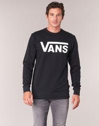 Υφασμάτινα Άνδρας Φούτερ Vans VANS CLASSIC CREW Black
