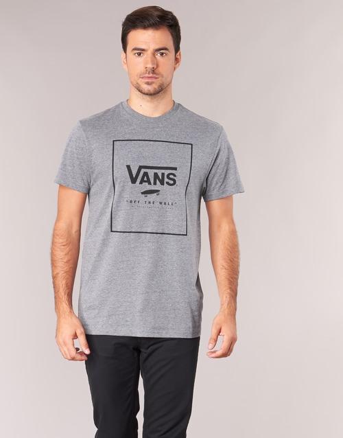 Υφασμάτινα Άνδρας T-shirt με κοντά μανίκια Vans PRINT BOX Grey
