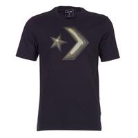 Υφασμάτινα Άνδρας T-shirt με κοντά μανίκια Converse DIMENSIONAL LAYER STAR CHEVRON TEE Black