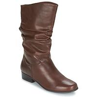 Παπούτσια Γυναίκα Μπότες για την πόλη Spot on LAVAS CAMEL