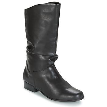Παπούτσια Γυναίκα Μπότες για την πόλη Spot on DIURO Black