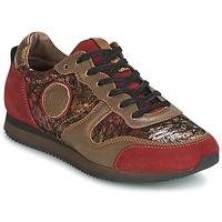 Παπούτσια Γυναίκα Χαμηλά Sneakers Pataugas IDOL Red / Brown