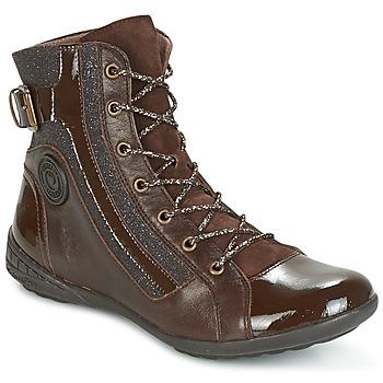 Παπούτσια Γυναίκα Ψηλά Sneakers Pataugas NOUR Brown