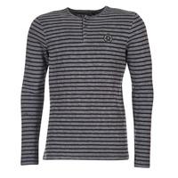 Υφασμάτινα Άνδρας Μπλουζάκια με μακριά μανίκια Le Temps des Cerises ROGER Grey