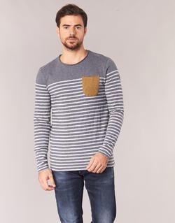 Υφασμάτινα Άνδρας Μπλουζάκια με μακριά μανίκια Le Temps des Cerises VINCENT Grey
