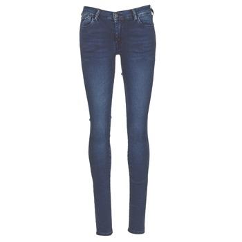 Υφασμάτινα Γυναίκα Skinny jeans Le Temps des Cerises ULTRAPOWER Μπλέ / Medium