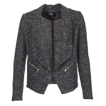 Υφασμάτινα Γυναίκα Σακάκι / Blazers Le Temps des Cerises DARLA Grey